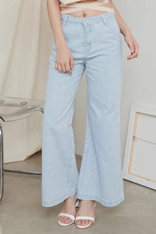 GABI JEANS WIDE LEG TROUSERS