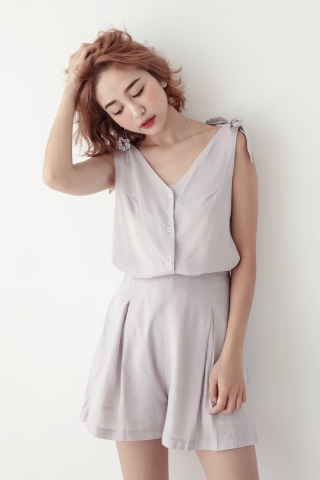 RAINIE TWO PIECE SET IN GREY