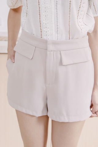DOUBLE POCKETS SHORTS IN BLUSH