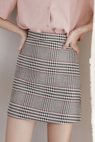 DAILY CHECK SKIRT