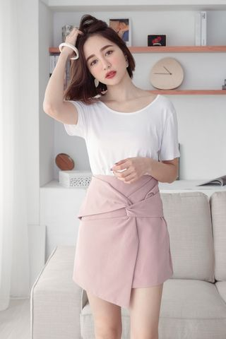 SUNDAY ASYMMETRICAL SKIRT IN PINK
