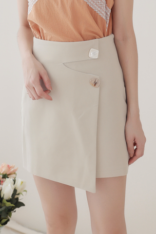 BETTER DAY KOREA DESIGN SKIRT IN OAT