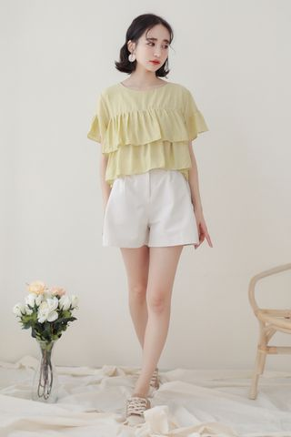 SOMEDAYS KOREA LAYERS TOP IN LIME