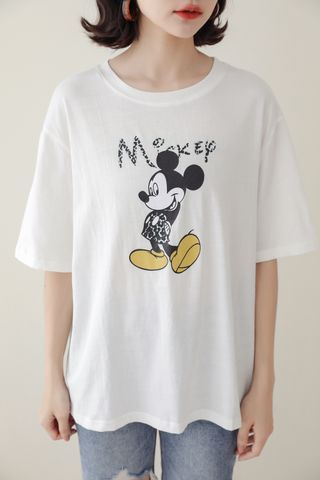SOMEDAYS MICKEY TEE IN WHITE