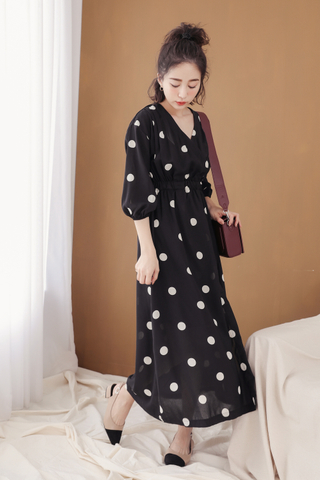 (BACKORDER) PEANUT DAY POLKA DOT 170CM DRESS