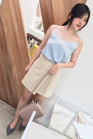 BETTER DAY LACEY CAMI IN BABY BLUE