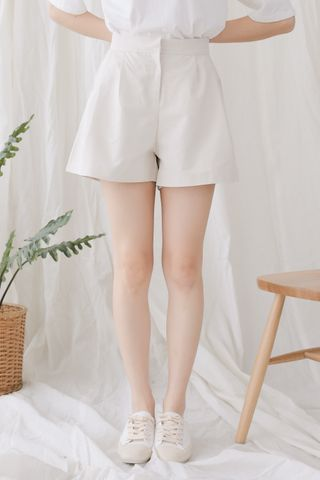SELF LOVE KOREA -5KG SHORTS IN CREAM