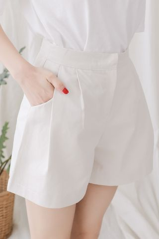 (BACKORDER) SELF LOVE KOREA -5KG SHORTS IN CREAM