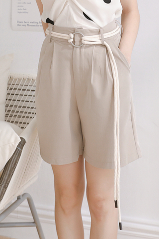 (BACKORDER) SUNSHINE DAY KOREA -5KG BERMUDA SHORTS IN MILK TEA
