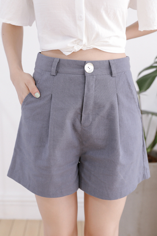 OPS A DAY KOREA MADE SHORTS IN DUSTY BLUE