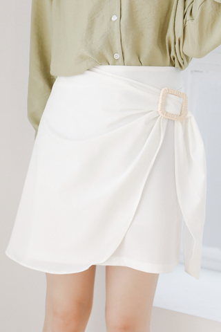 SUNSHINE DAY KOREA -5KG SKIRT IN WHITE