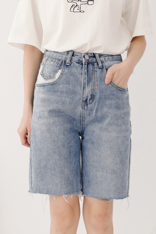 BUTTER DAY DENIM BERMUDA SHORTS