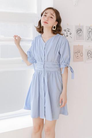 BUTTER DAY KOREA DRESS IN BLUE