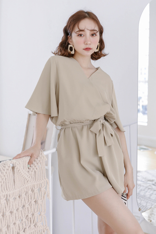 ALL DAY KOREA ROMPER IN HOJICHA