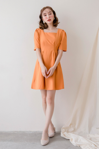 (BACKORDER) ON DEIS KOREA SQUARE COLLAR -5KG DRESS