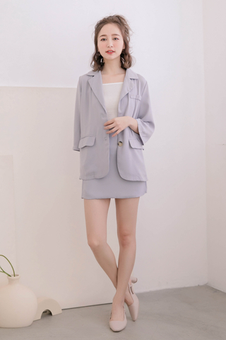 365 DAYS DE ARIMEE MADE KOREA BLAZER IN BABY BLUE