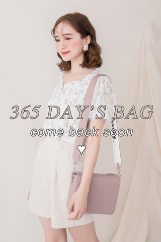 365 DAYS A' BAG IN DUSTY BLUSH