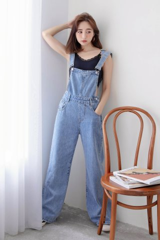 DARLING KOREA 170CM DENIM DUNGAREES