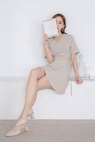 WITH 365 DAYS -5KG KOREA DRESS IN CREAM