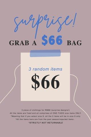 RM66 SURPRISE BAG
