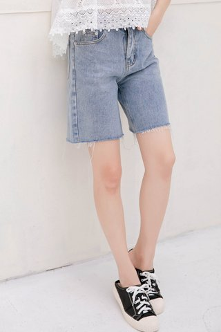 SUNDAY KR DENIM EDITOR SHORTS