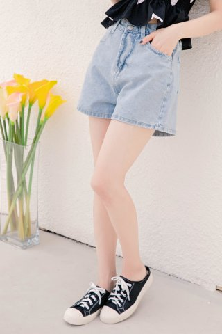 (BACKORDER) BE LITTLE KR -5KG DENIM SHORTS
