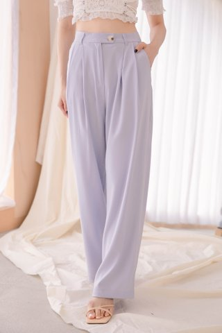 BUTTER DE KR 170CM WIDE LEG PANTS IN BABY YAM