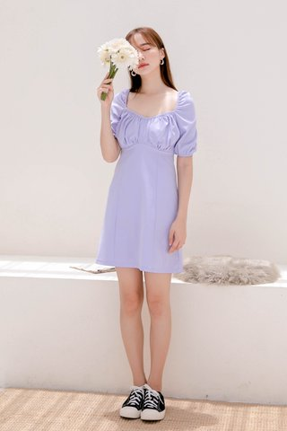 BUTTER DE KR FRENCH DRESS IN BABY LILAC (NG SALES)