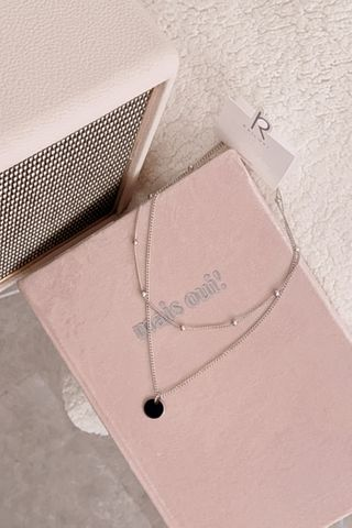 (BACKORDER) LITTLE ME KOREA LAYERED NECKLACE IN SILVER