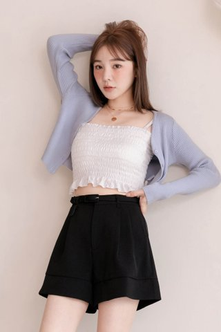 (BACKORDER) LITTLE DAY KOREA KNIT CARDIGAN IN BLUE