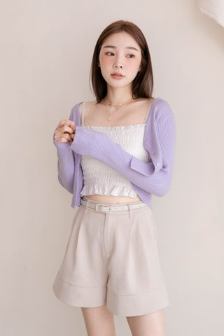 (BACKORDER) LITTLE DAY KOREA KNIT CARDIGAN IN YAM