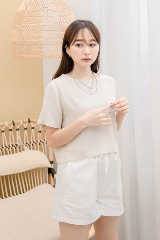 (BACKORDER S)BAKED 365 DAYS KR BASIC TOP IN OAT