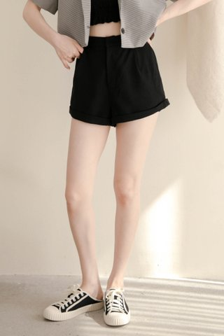 (BACKORDER XS/S/M/L/XL) VERY VELY KR -5KG SHORTS IN BLACK