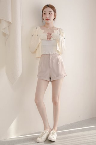 (BACKORDER XS/S/M/L) VERY VELY KR -5KG SHORTS IN CREAM
