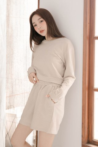 BUT LITTLE BUN KR PULLOVER SET IN CREAM