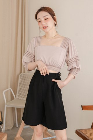 (BACKORDER S/M/L) HOLI KOREA -5KG SWEET TOP IN DUSTY BLUSH
