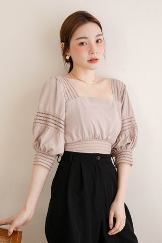 (BACKORDER S/L) HOLI KOREA -5KG SWEET TOP IN DUSTY BLUSH