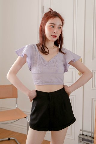 BUT SOME KR EYELET TOP IN YAM