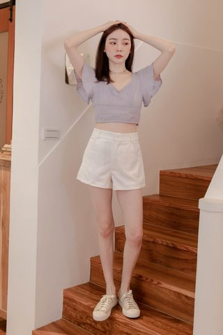 (BACKORDER XS/S/M/L/XL) BUT SOME KR -5KG LITTLE A SHORTS IN WHITE