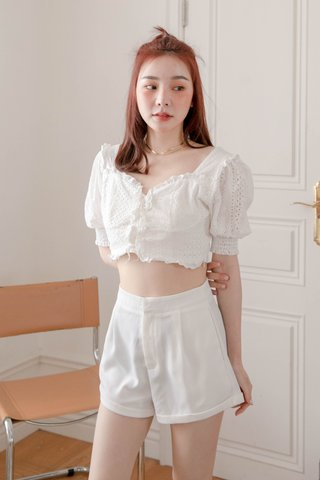 VERY VELY KR -5KG SHORTS IN WHITE