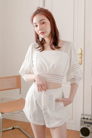 (BACKORDER S/M/L) HOLI KOREA -5KG SWEET TOP IN WHITE