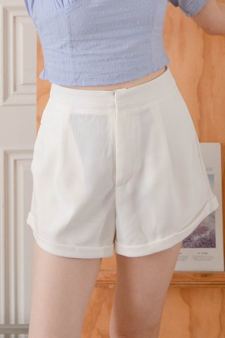 (BACKORDER XS/S/M)  VERY VELY KR -5KG SHORTS IN WHITE