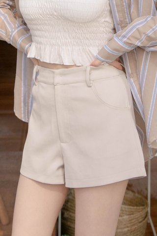 (BACKORDER S/M/L) BUT SOME KR -5KG LITTLE A SHORTS IN CREAM